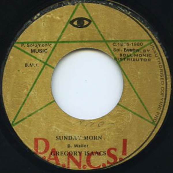 Gregory Isaacs - Sunday Morn / Version 7""