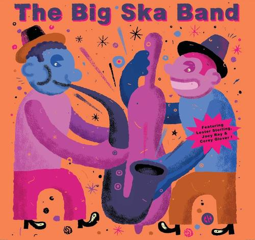 BIG SKA BAND featuring LESTER STERLING -Jamaica Farewel 7""