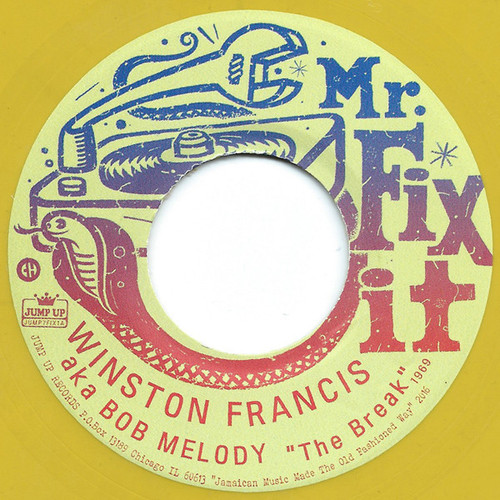 Winston Francis & Lloyd Robinson ‎– The Break / Your Cheating Heart 7""