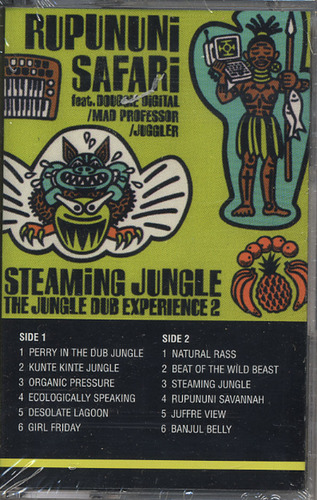 Mad Professor - Rupununi Safari: Steaming Jungle 2 (TAPE)