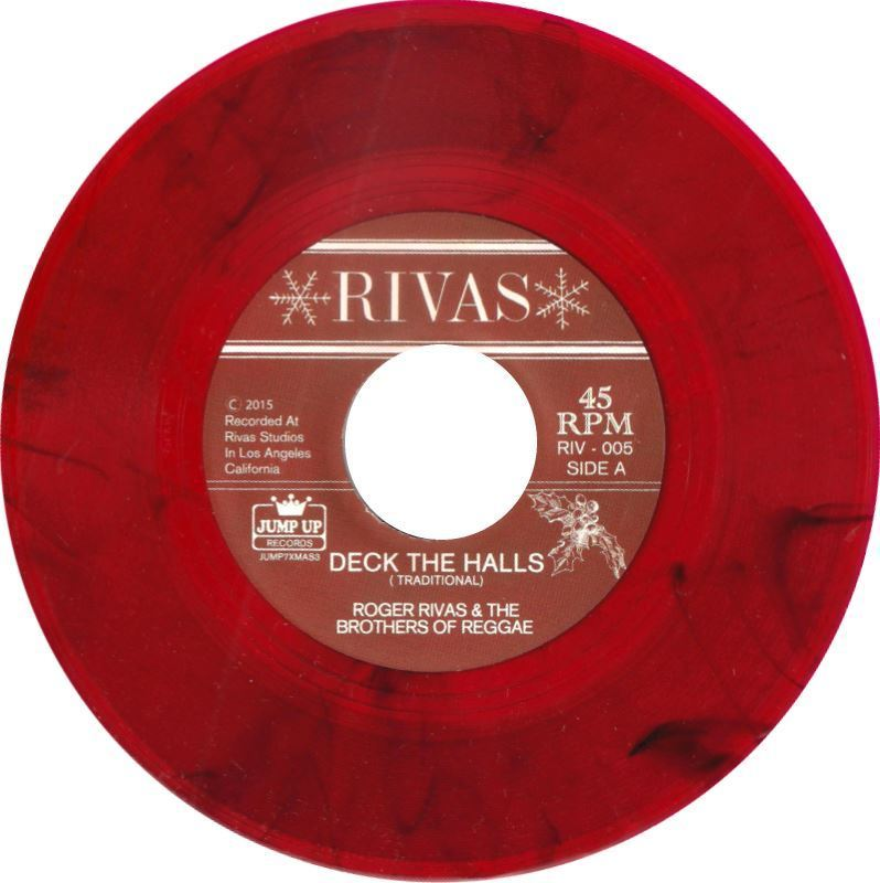 Roger Rivas -Deck The Halls / Jingle Bells 7″