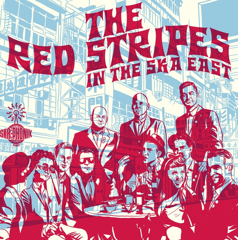 The Red Stripes - In the Ska East (CD)