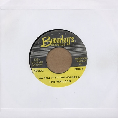 Peter Tosh, Wailers - Go Tell It On The Mountain / Version   7""