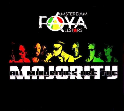 Amsterdam Faya Allstars ‎– All Minorities Are The Majority (CD)