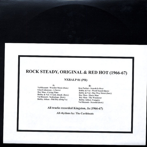 V/A - Rock Steady, Original & Red Hot 1966-1967