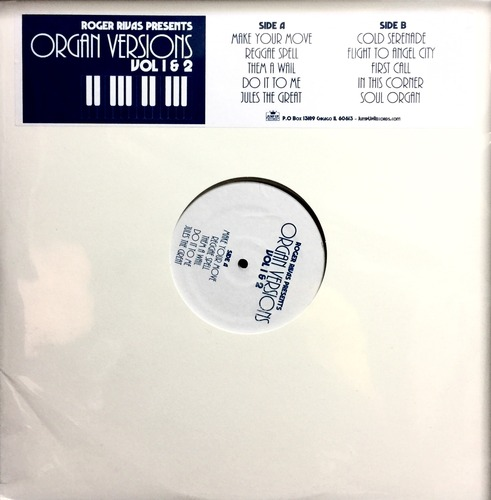 Roger Rivas -Organ Versions Volume 1 & 2  LP