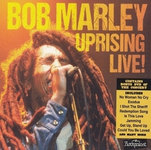 Bob Marley & The Wailers - Uprising Live! (DVD +2CD)